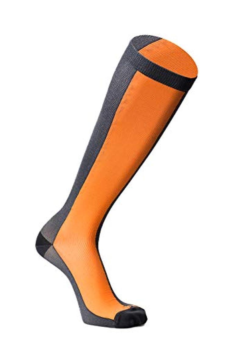 電球装備する染色フライトソックス 男女兼用 おうちでメディキュット リンパケア ロング L 着圧 加圧 血行改善 むくみケア 弾性 靴下