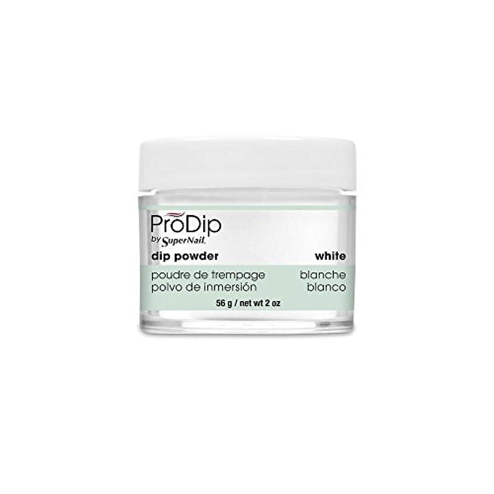 壮大リーチマナーSuperNail - ProDip - Dip Powder - White - 56 g/2 oz