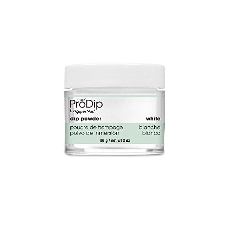 桃パスタそこSuperNail - ProDip - Dip Powder - White - 56 g/2 oz