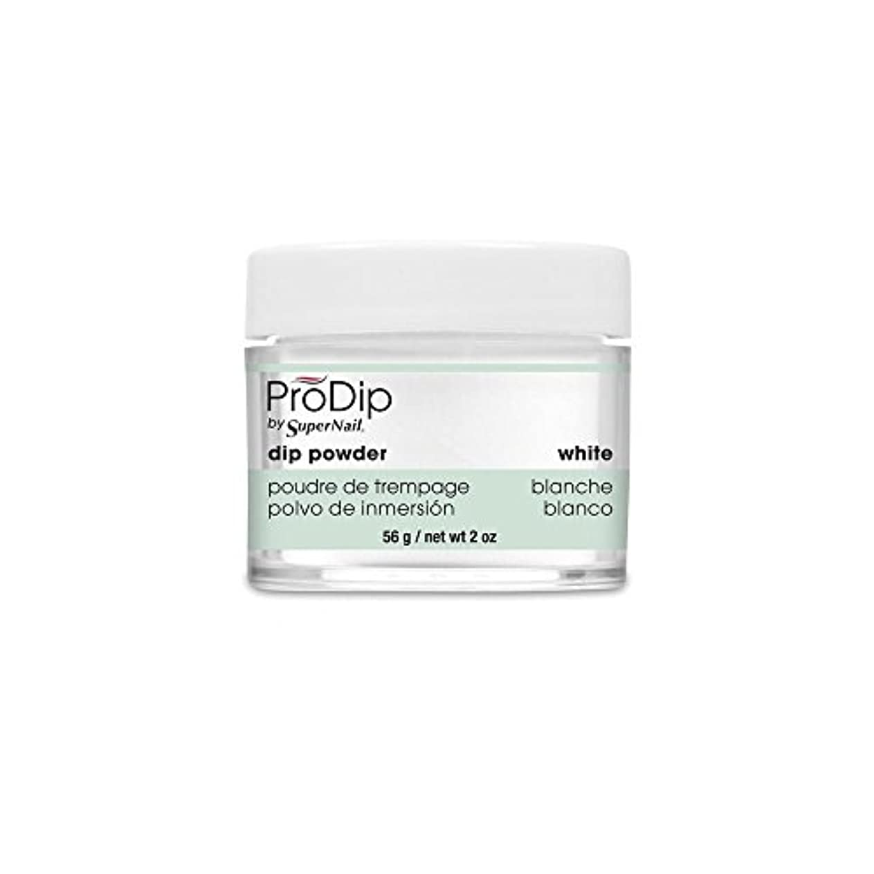 くまデクリメント偽善SuperNail - ProDip - Dip Powder - White - 56 g/2 oz