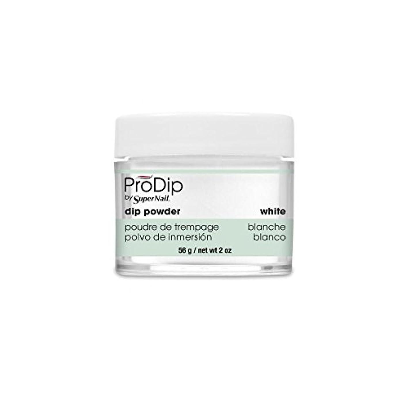 スタイル詐欺勘違いするSuperNail - ProDip - Dip Powder - White - 56 g/2 oz