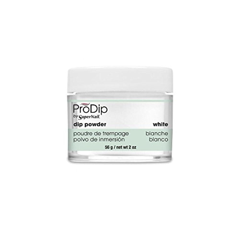 SuperNail - ProDip - Dip Powder - White - 56 g/2 oz