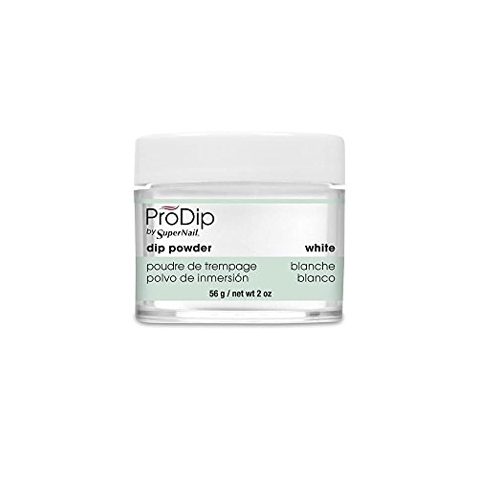鏡気を散らすエレクトロニックSuperNail - ProDip - Dip Powder - White - 56 g/2 oz