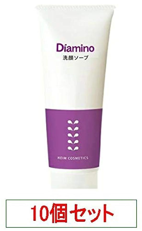 寛解慣れている位置するハイム ディアミノ 洗顔ソープ 100g x10個セット