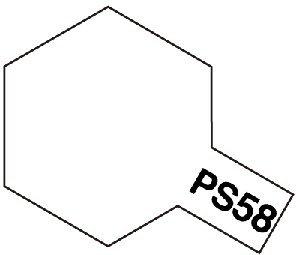 タミヤ ポリカーボネートスプレー No.58 PS-58 パールクリヤー 86058