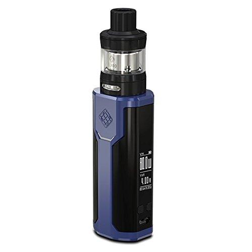 【電池付】 WISMEC SINUOUS P80 ELABO mini ウィズメック [シニュアスP80+エラボミニキット] (Blue ブルー)
