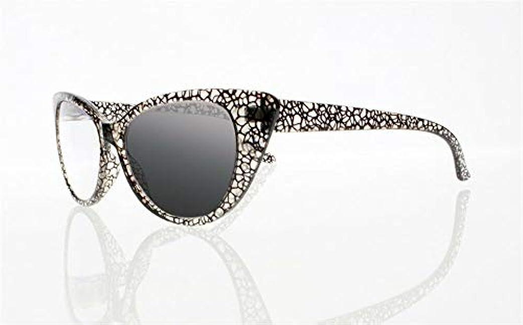 FidgetGear 女性トランジションフォトクロミックサングラスリーダー老眼鏡+1.0?+4.0新 グレー
