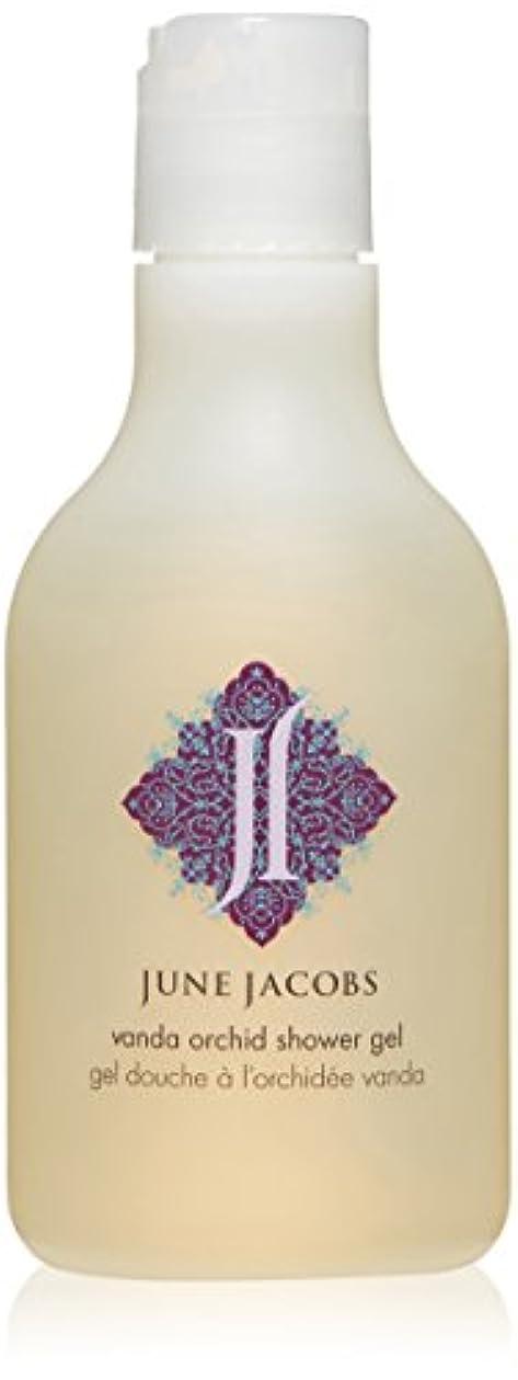 言う風刺叱るJune Jacobs Vanda Orchid Shower Gel, 6.7 Fluid Ounce by June Jacobs