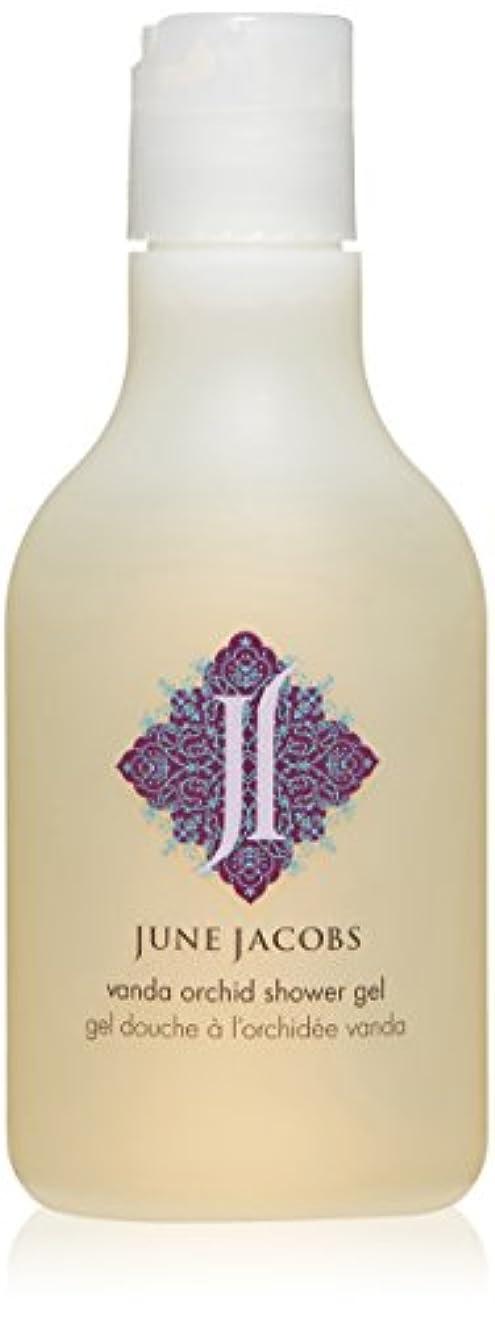 体操選手道徳教育アルファベットJune Jacobs Vanda Orchid Shower Gel, 6.7 Fluid Ounce by June Jacobs