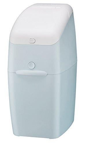 Aprica (アップリカ) 強力消臭紙おむつ処理ポット ニオイポイ NIOI-POI (におわなくてポイ後継機種) 本体 ペールブルー 強力消臭成分でニオイをシャットアウト ワンタッチオープンタイプ 2022668