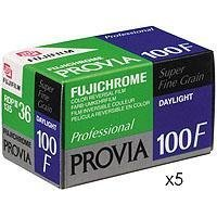 FujifilmプロビアカラースライドフィルムISO 100、35mm、5Rolls 36のコマ