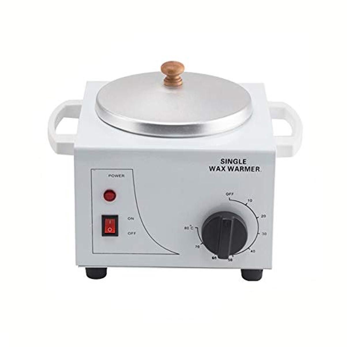 キッチンパートナー私たち自身プロフェッショナル電気ワックスウォーマーとヒーター、速くて痛みのない脱毛、ビューティーサロンワックスポット多機能シングルマウス炉温度制御脱毛ワックス豆ヒーター500CC