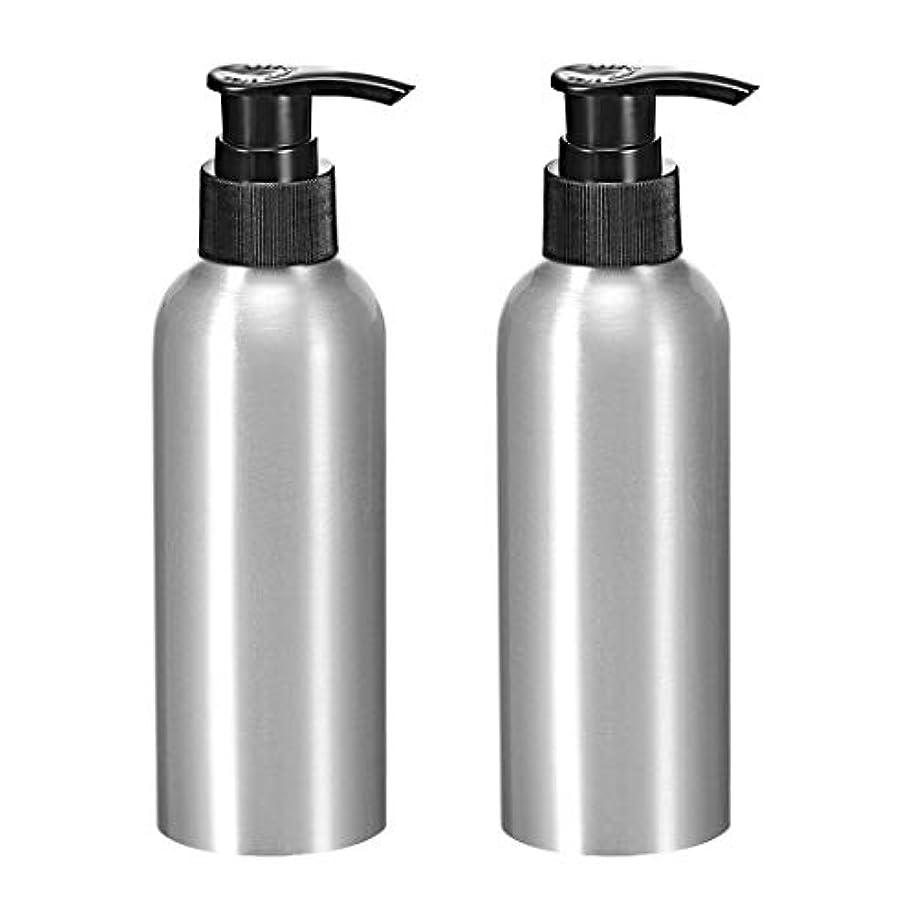 薄める拡声器裁判官uxcell アルミスプレーボトル 細かい霧のスプレーヤー付き 空の詰め替え容器 トラベルボトル 8.4oz/250ml 2個入り