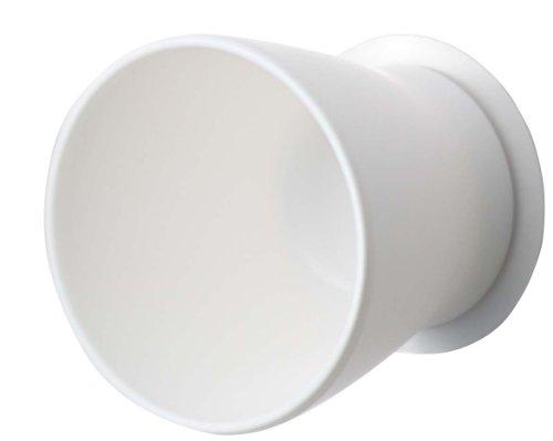 三栄水栓 歯磨きコップ ホワイト