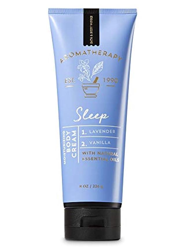 富ペグ臭いバス&ボディワークス アロマセラピー スリープ ラベンダーバニラ ボディクリーム SLEEP Lavender Vanilla Body Cream [海外直送品]