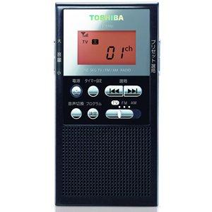 TOSHIBA TV音声/FM/AMラジオ ブラック TY-TPR1(K)