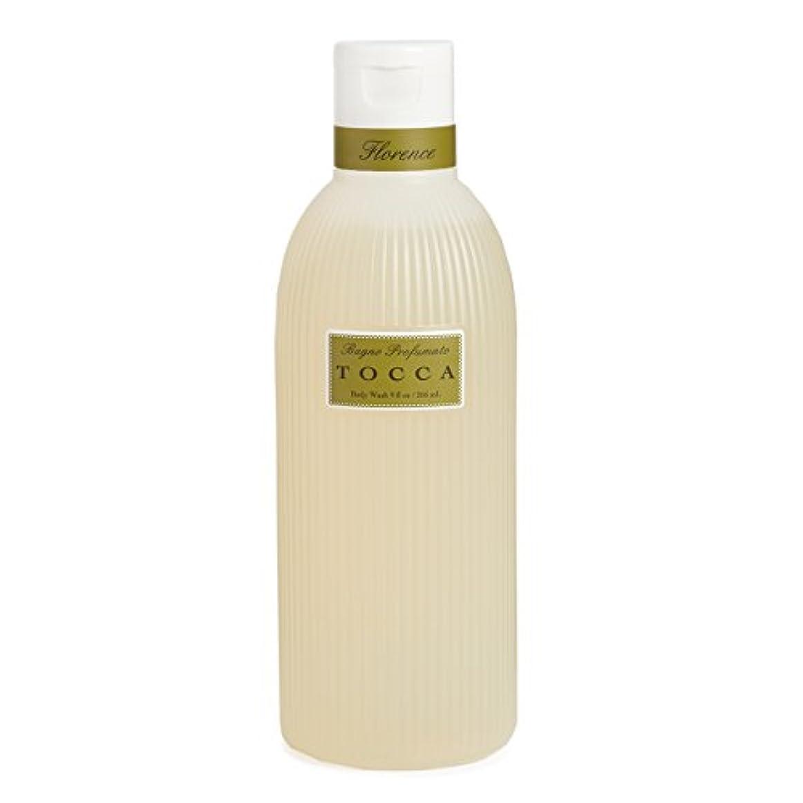 ベスビオ山清める執着トッカ(TOCCA) ボディーケアウォッシュ フローレンスの香り 266ml(全身用洗浄料 ボディーソープ ガーデニアとベルガモットが誘うように溶け合うどこまでも上品なフローラルの香り)