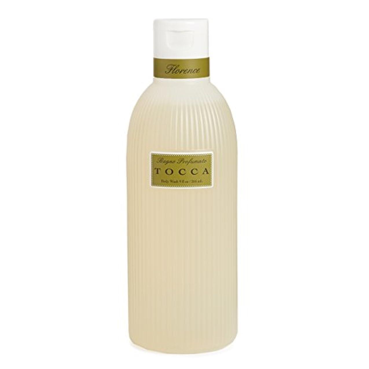 識別セーブアナリストトッカ(TOCCA) ボディーケアウォッシュ フローレンスの香り 266ml(全身用洗浄料 ボディーソープ ガーデニアとベルガモットが誘うように溶け合うどこまでも上品なフローラルの香り)