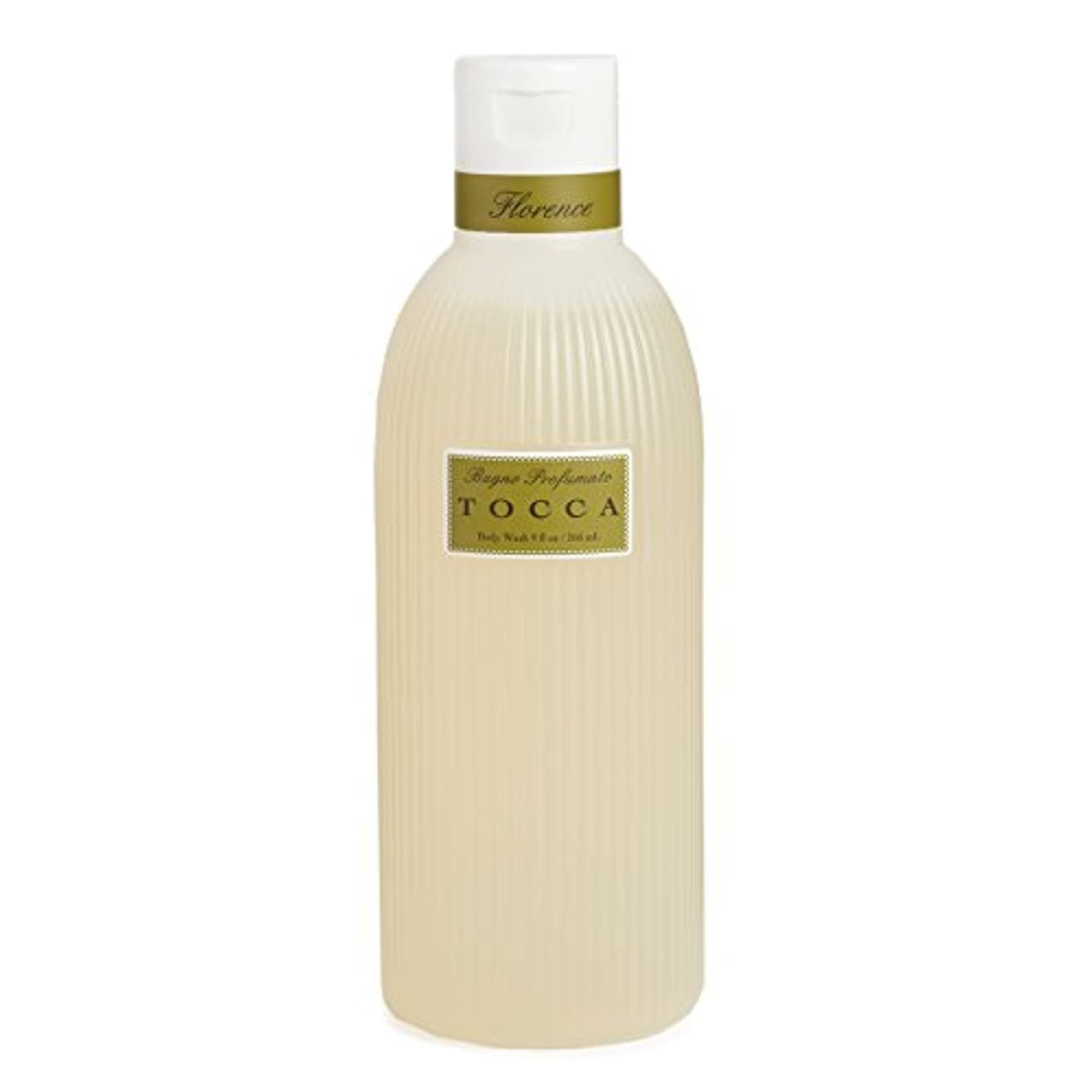 トッカ(TOCCA) ボディーケアウォッシュ フローレンスの香り 266ml(全身用洗浄料 ボディーソープ ガーデニアとベルガモットが誘うように溶け合うどこまでも上品なフローラルの香り)