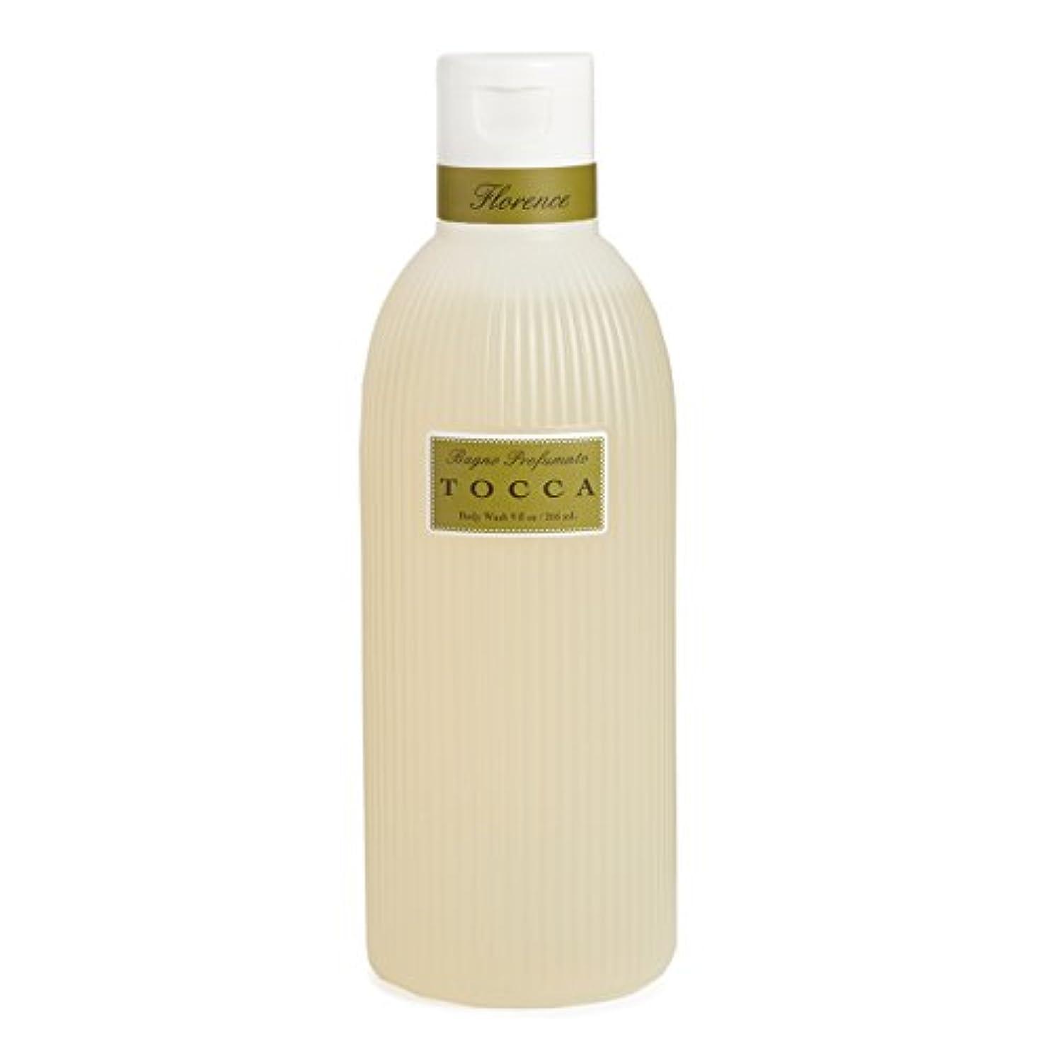 かんたん山岳を除くトッカ(TOCCA) ボディーケアウォッシュ フローレンスの香り 266ml(全身用洗浄料 ボディーソープ ガーデニアとベルガモットが誘うように溶け合うどこまでも上品なフローラルの香り)
