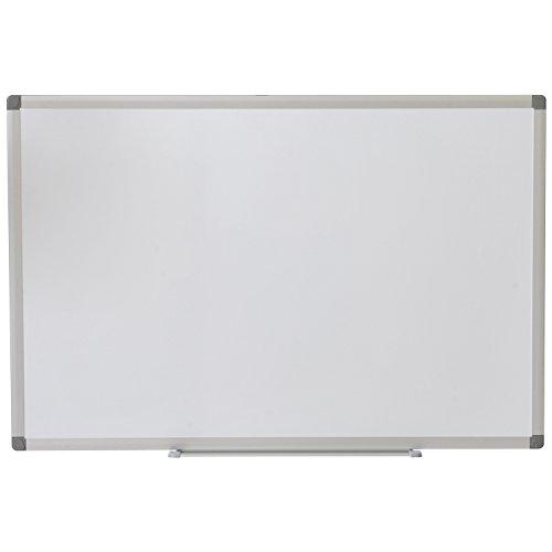 オフィスコム ホワイトボード ホーロー 壁掛け 無地 900×600mm マーカー付き OC-WBH9060W
