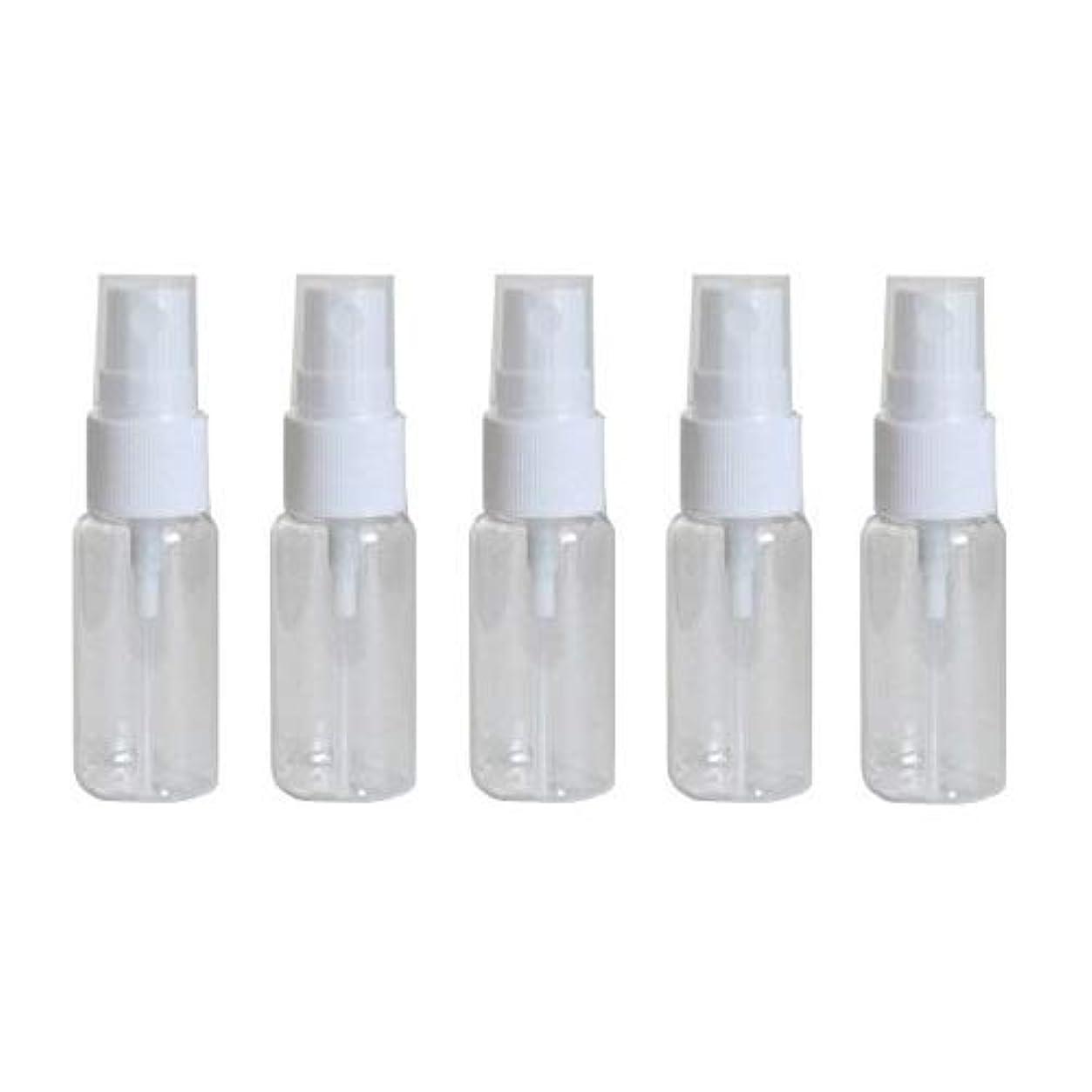 起点バッジ先祖happy fountain スプレーボトル 15ml 5本セット プラスチック容器 アトマイザー