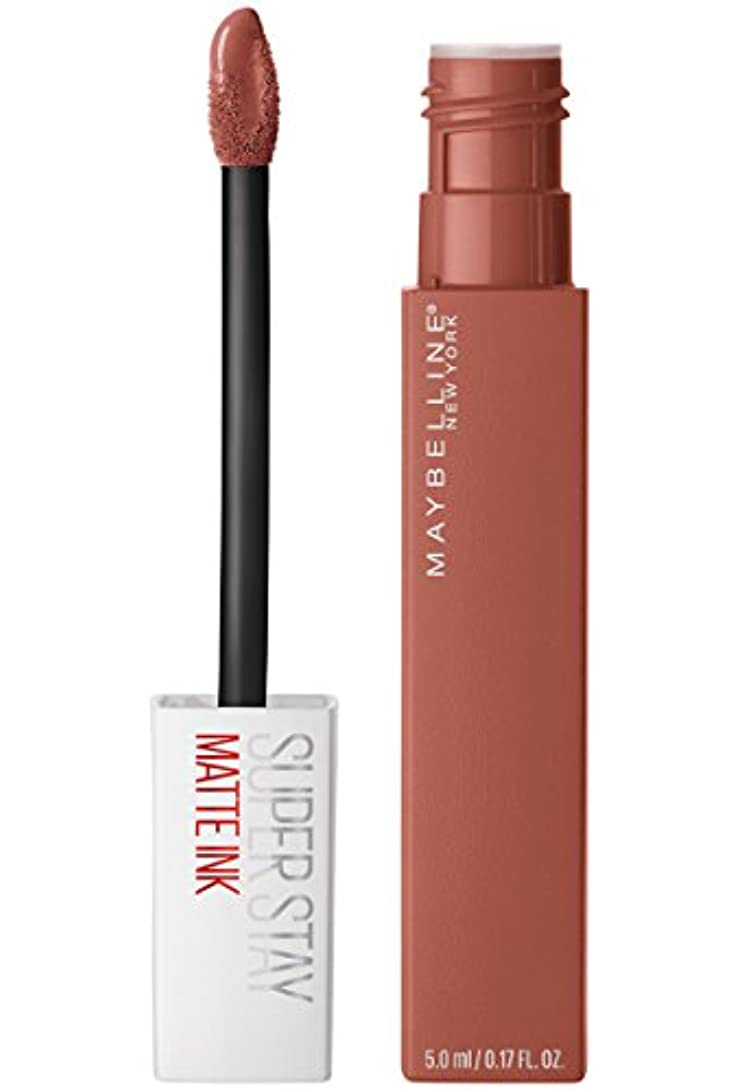 はさみマッサージ地上のMaybelline New York Super Stay Matte Ink Liquid Lipstick,70 Amazonian, 5ml
