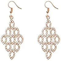 Colette Hayman - Gradual Diamante Drop Earrings