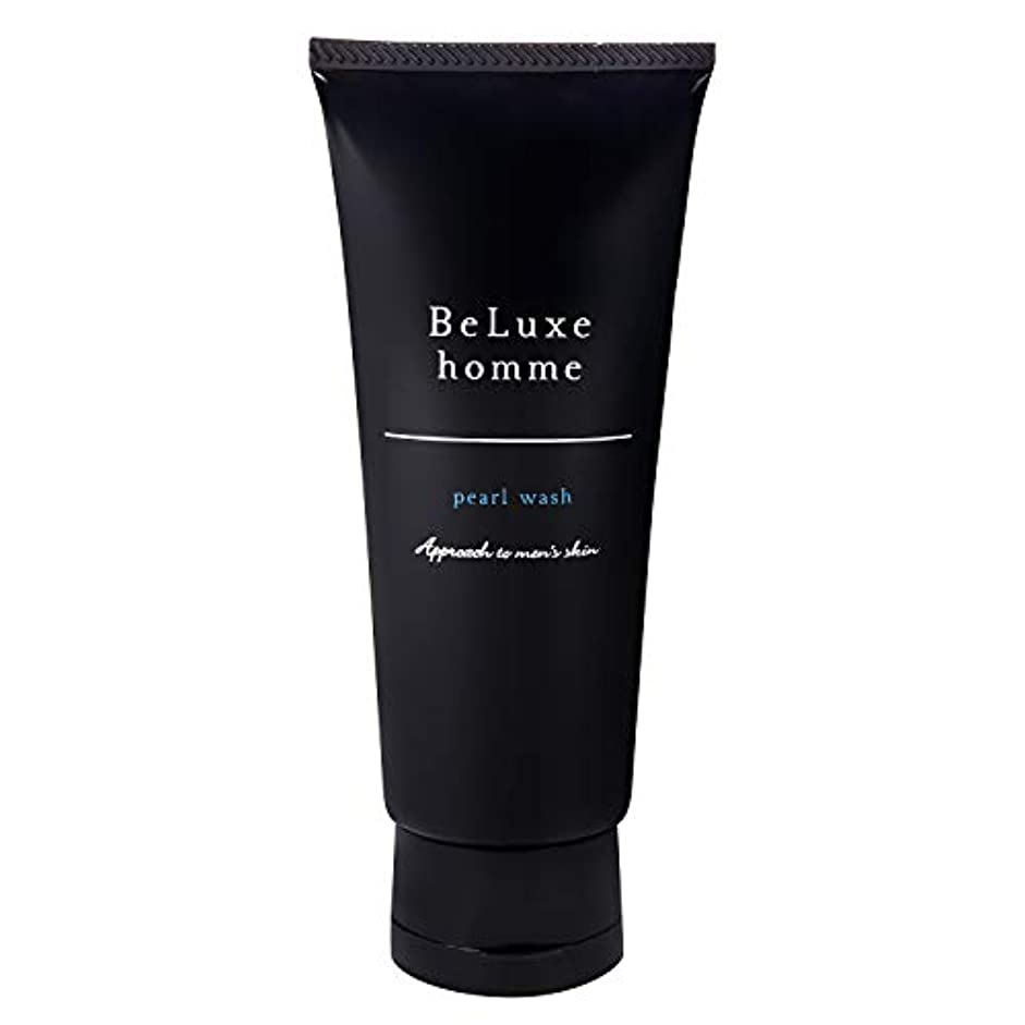溶接ポット見えないベリュクス オム パールウォッシュ 90g 【男性 スキンケア 洗顔料】 メンズ 混合肌 美肌成分配合 さっぱり洗い しっかり潤い 毛穴まわりのトラブルに