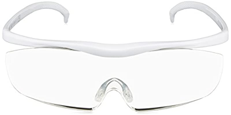 Hazuki 《하즈키》 라지 클리어 렌즈 1.85배(검정・빨강・보라색・흰색)