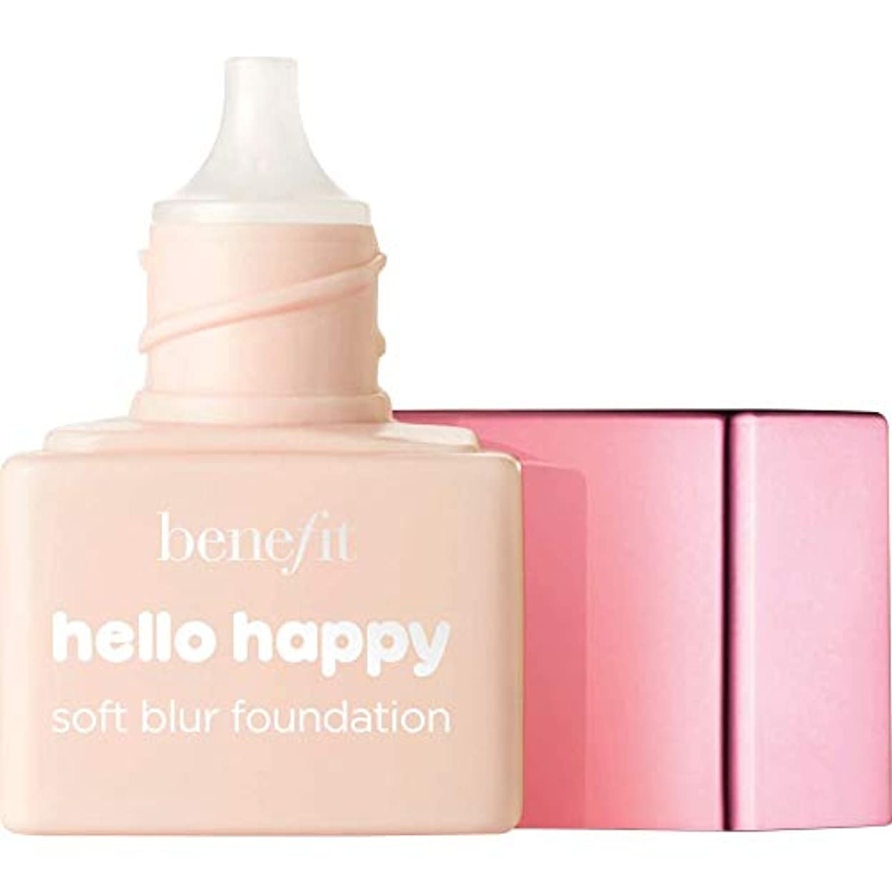 交響曲ジョガーフォーカス[Benefit ] 利益こんにちは幸せなソフトブラー基礎Spf15の6ミリリットル - ミニ1 - フェアクール - Benefit Hello Happy Soft Blur Foundation SPF15 6ml...