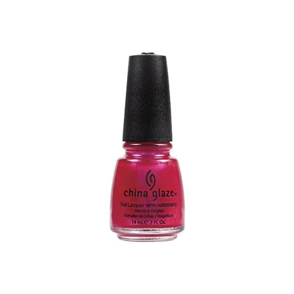 歴史水花CHINA GLAZE Nail Lacquer - Island Escape - 108 Degrees (並行輸入品)
