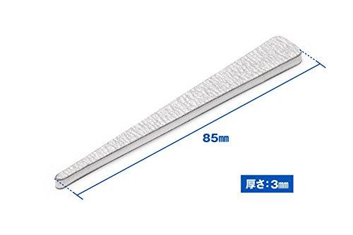 ウェーブ ホビーツールシリーズ ヤスリスティック HARD4 先細型 ♯1200 10枚入り プラモデル用工具 HT-635