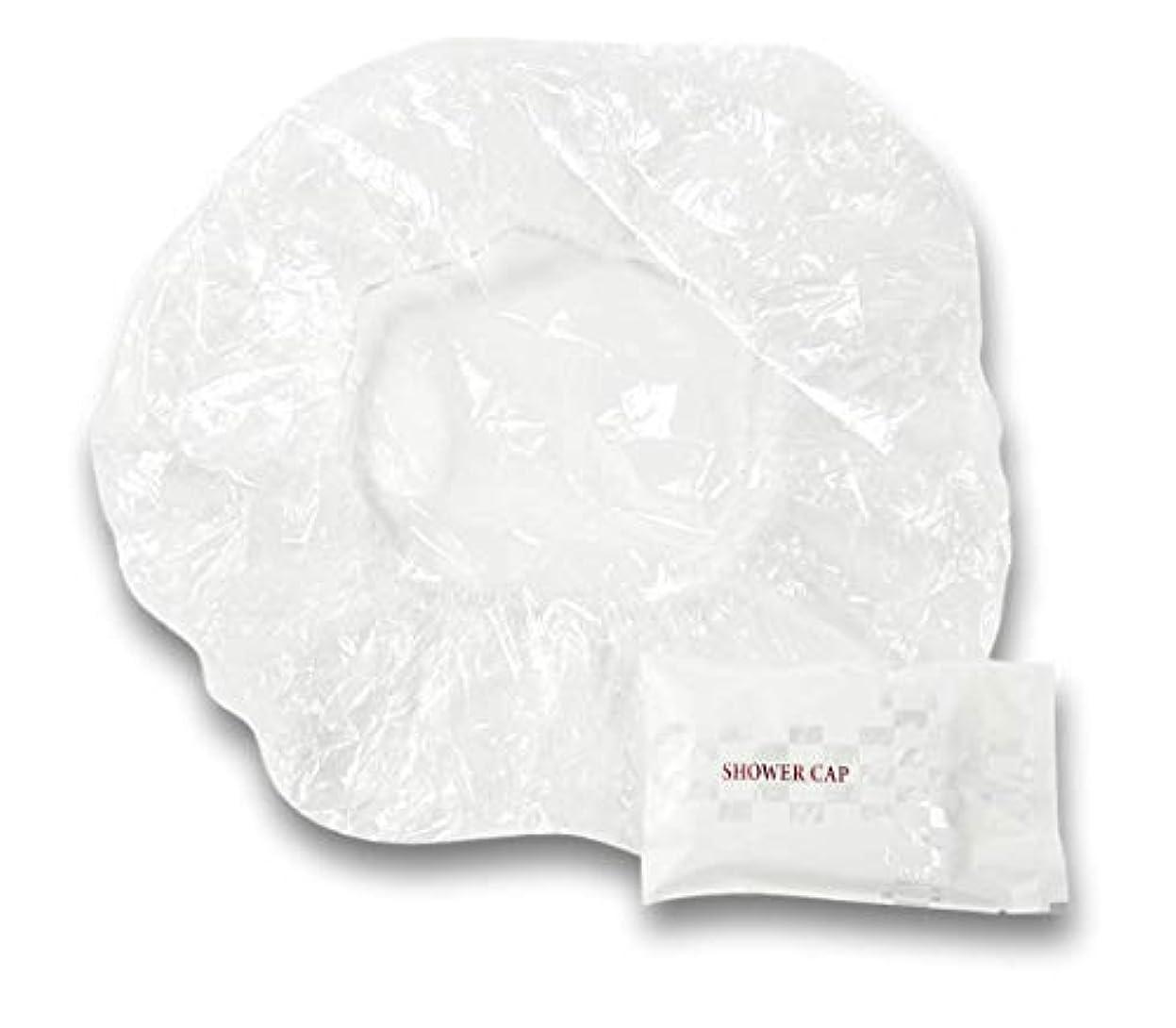 抵抗する価値のない月ラティス シャワーキャップ 業務用 個別包装100入り 使い捨てキャップ