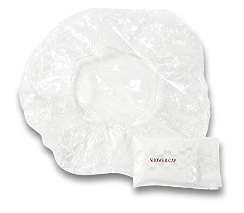 印象派またメッシュラティス シャワーキャップ 業務用 個別包装100入り 使い捨てキャップ