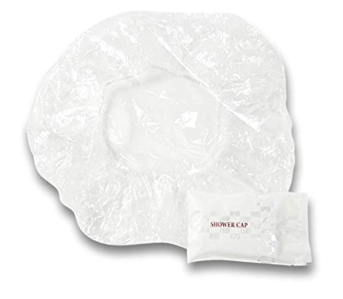 最高摩擦トレードラティス シャワーキャップ 業務用 個別包装100入り 使い捨てキャップ