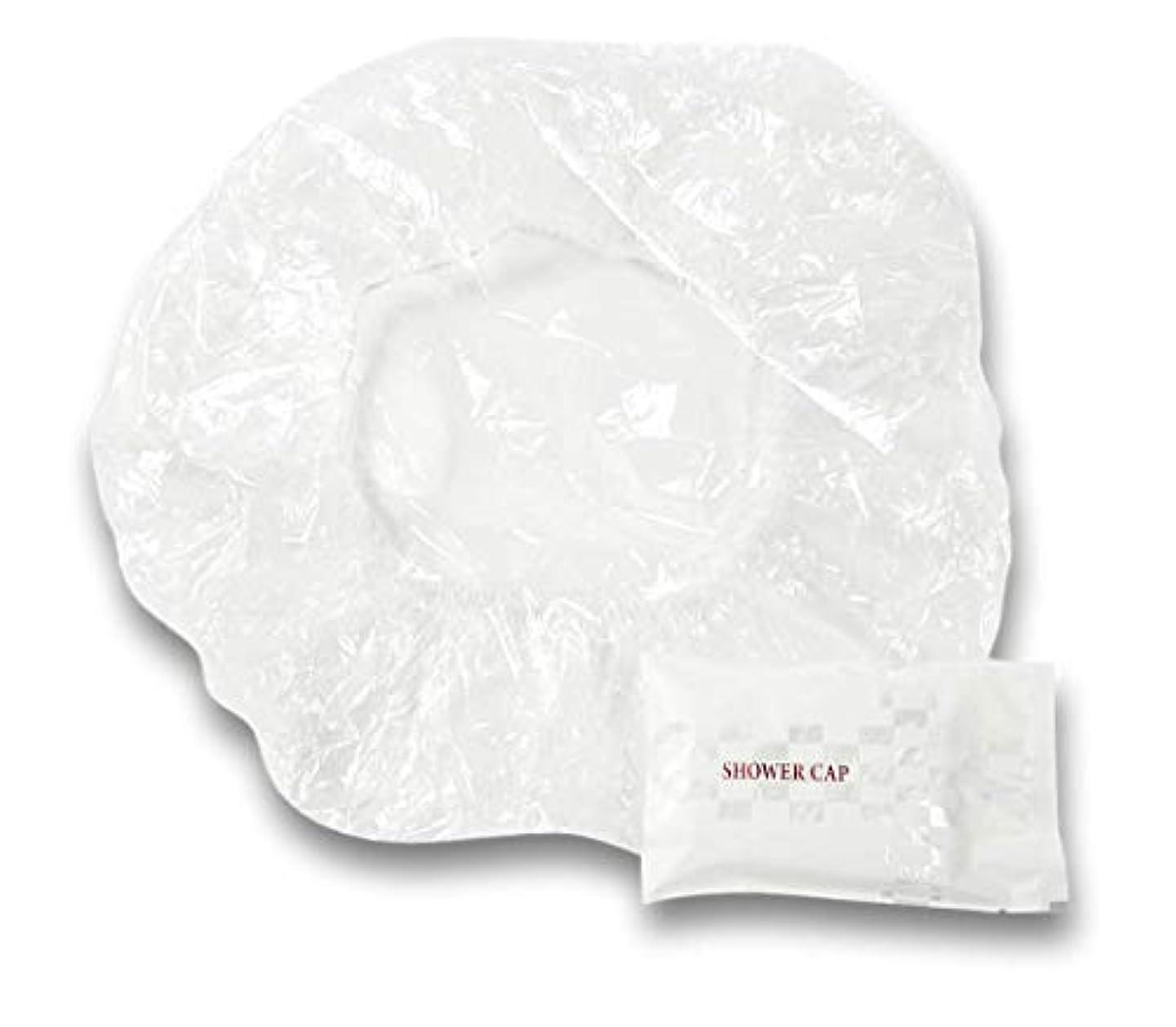 方法論リードメーカーラティス シャワーキャップ 業務用 個別包装100入り 使い捨てキャップ