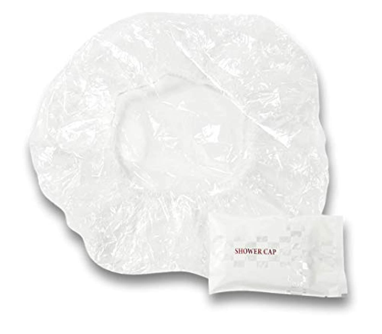 リッチ神聖関税ラティス シャワーキャップ 業務用 個別包装100入り 使い捨てキャップ