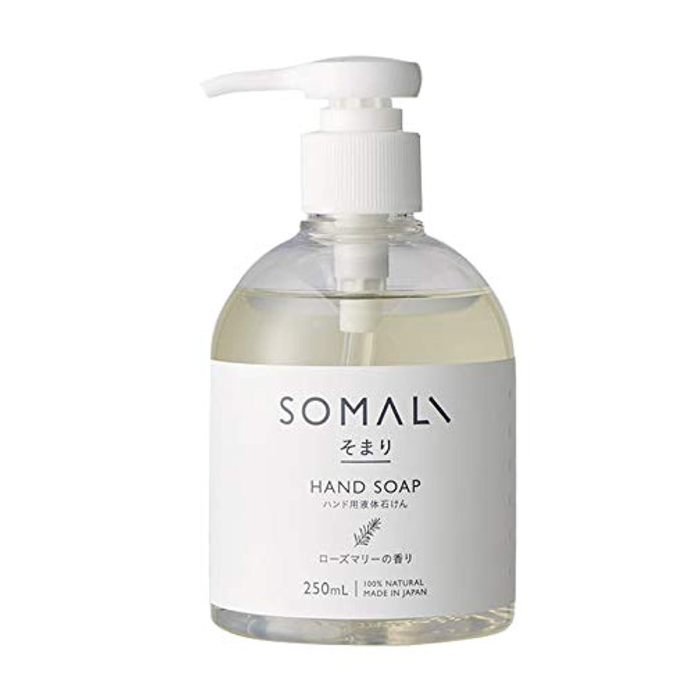 部屋を掃除するコアマラドロイトハンド用液体石けん 250ml 木村石鹸 SOMARI そまり Z3K