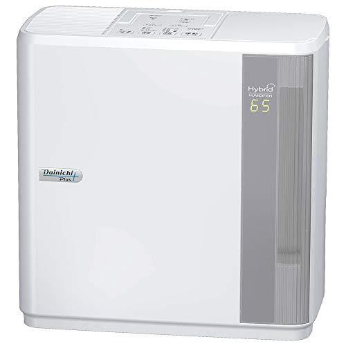 ダイニチ ハイブリッド式加湿器(木造和室8.5畳まで/プレハブ洋室14畳まで) HDシリーズ ホワイト HD-5017-W
