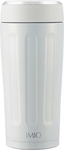 和平フレイズ 水筒 タンブラー 360ml ポータブル 真空断熱 ホワイト イミオ IM-0001