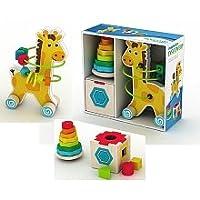 Imaginariumクラシック木製玩具トリオ