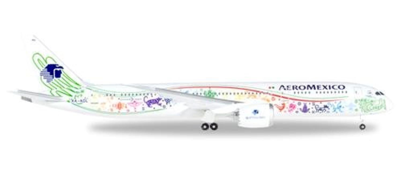 ヘルパ 1/500 787-9 アエロメヒコ航空 Quetzalcoatl XA-ADL 完成品