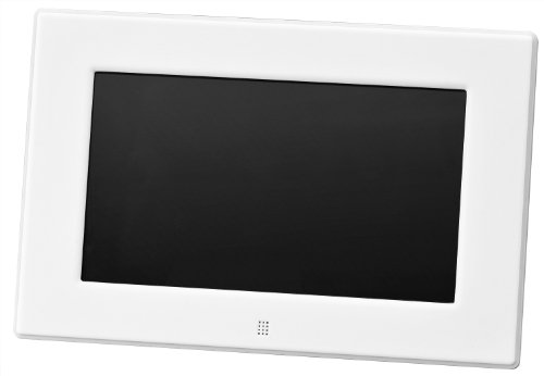 Green House (グリーンハウス) 低消費電力設計の7型ワイド液晶 デジタルフォトフレーム ホワイト GH-DF7X-WH B00RG4CU92 1枚目