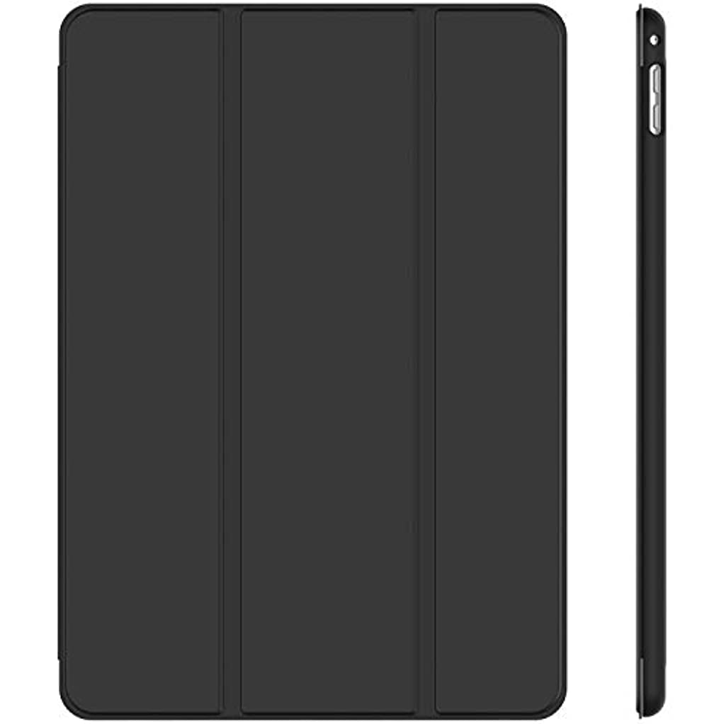 ミシンモーター時代[f0vers] Pad mini 5 ケース iPad Mini5 ケース 2019最新版対応/iPad Mini4兼用 超薄型 超軽量 TPU ソフト PUレザー スマートカバー 三つ折り スタンド スマートキーボード対応 キズ防止 指紋防止 [オートスリープ/スリープ解除] ダック?ブラック