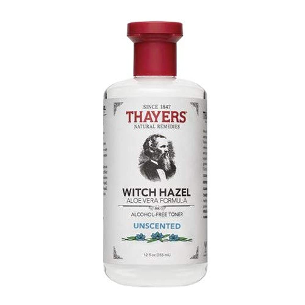 アセ権威規範Thayersアルコールフリー無香料ウィッチヘーゼルトナー( 12oz。)