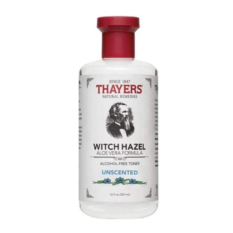 Thayersアルコールフリー無香料ウィッチヘーゼルトナー( 12oz。)