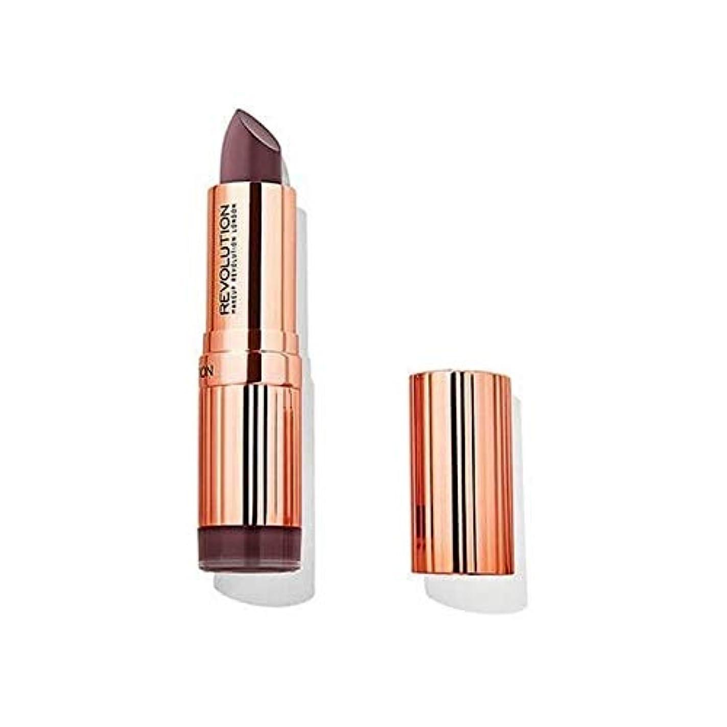 深い薄い電化する[Revolution ] 革命ルネサンス口紅買収 - Revolution Renaissance Lipstick Takeover [並行輸入品]
