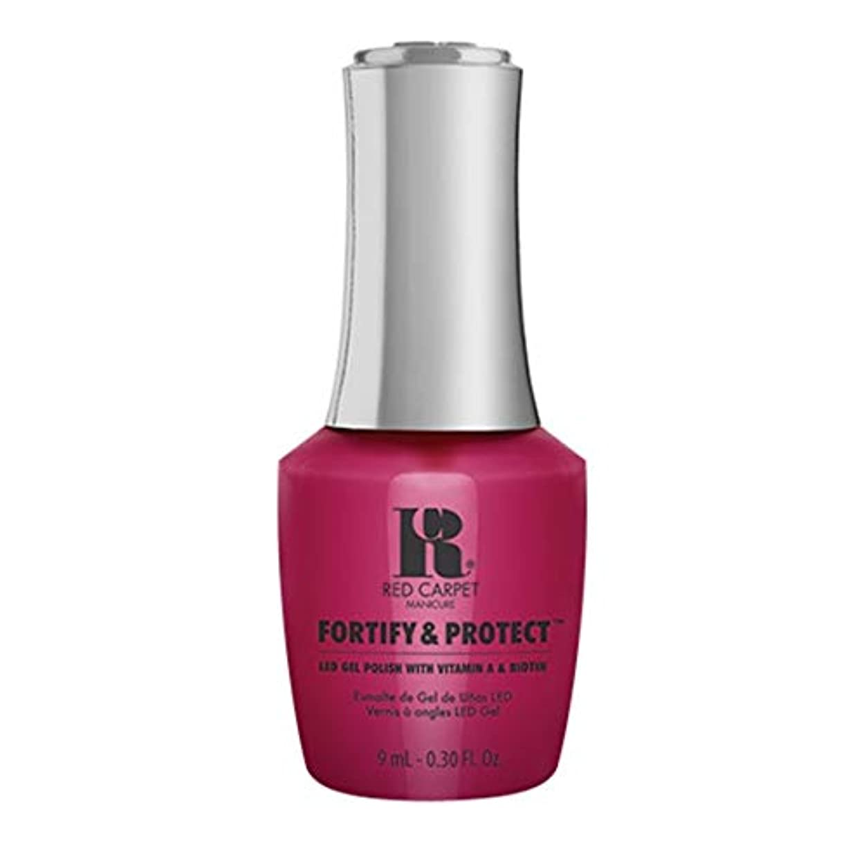 気づく発生すると組むRed Carpet Manicure - Fortify & Protect - Film Debut - 9ml / 0.30oz