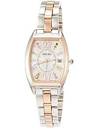 [ルキア]LUKIA 腕時計 LUKIA ソーラー電波 クリスマス限定 限定3,300本 プラチナダイヤシールド スワロフスキー®入りライトベージュ文字盤 SSVW130 レディース